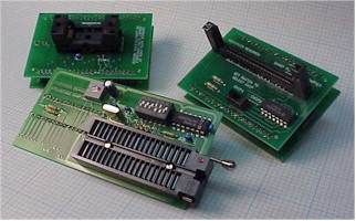 A875X, Canon Copy Machine adapter plus 8751 adapter and 48 pin TSOP flash eprom adapter
