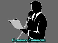Customer Comments