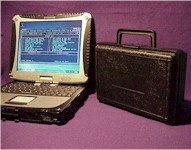 EPROM programmer with CF-18 toughbook