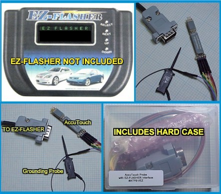 EZ-FLASHER interface for AccuTouch probe