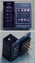 8 pin DIP IC socket interface