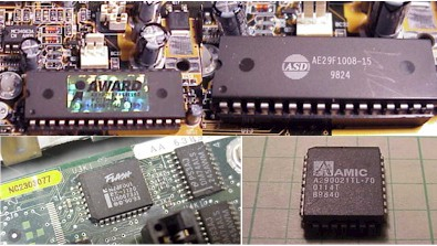 flash eprom bios parts