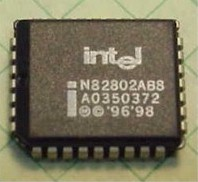 Intel firmware hub and bios chip