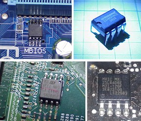 spi flash bios parts