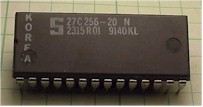 EPROM in plastic package