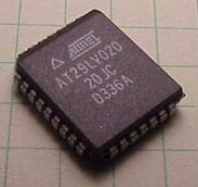 AT29LV020 flash eprom in PLCC package